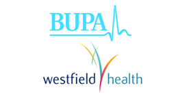 BUPA Private Physio Treatments and Westfield Health Associates