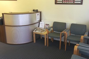 Treatment House Physio Clinic Reception Room